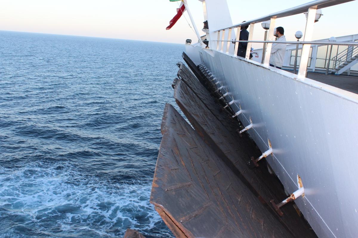 Ankunft Tanger Med.