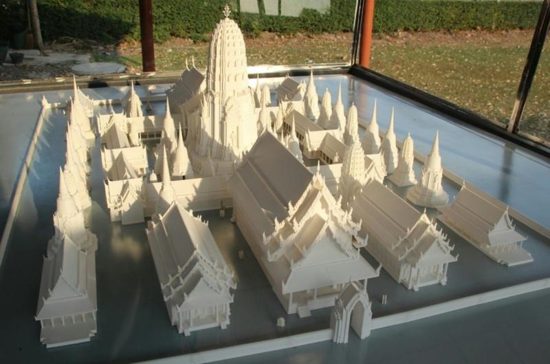 So gewaltig sah z.B. eine Tempelanlage ursprünglich aus.