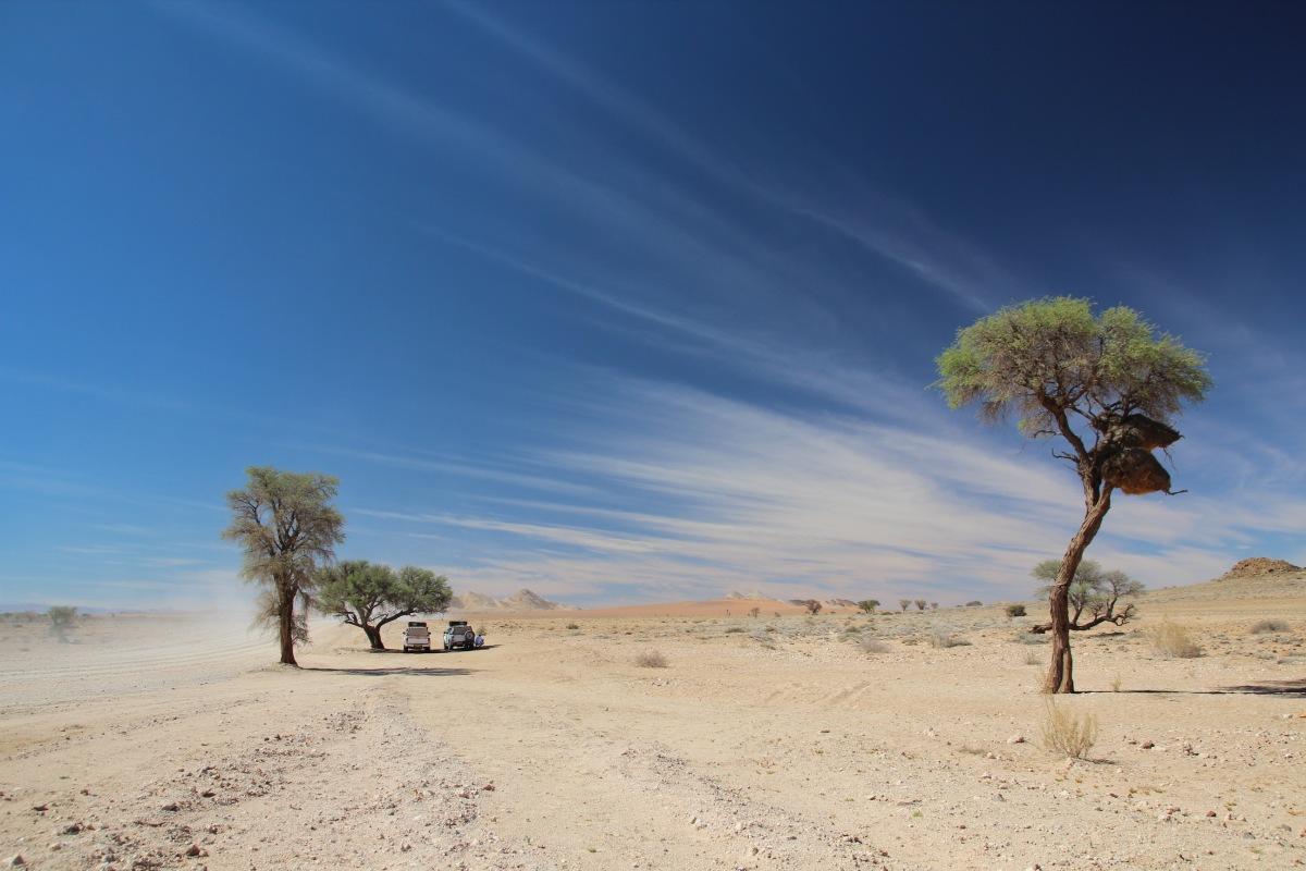 Namibia 2016. Hitze, Staub und ein Hoch auf Kabelbinder.
